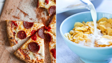 Photo of Is pizza really healthier than cereal for breakfast?