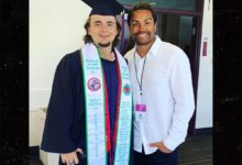 Photo of Michael Jackson's son Prince graduates with honors from Loyola Marymount University