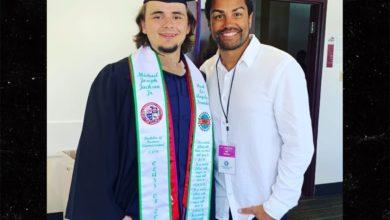 Photo of Michael Jackson's son Prince graduates with honors from Loyola Marymount University