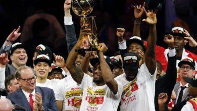 Photo of The Toronto Raptors win Canada's first NBA championship