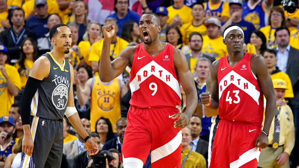 Raptors rip Warriors to take commanding 3-1 NBA Finals lead
