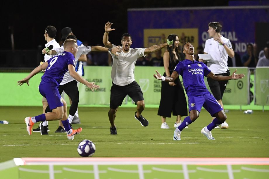 Orlando City Players Win MLS All-Star Skills Challenge on Nani's Last Minute Ball