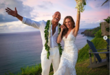 Photo of Dwayne 'The Rock' Johnson marries Lauren Hashian in secret ceremony