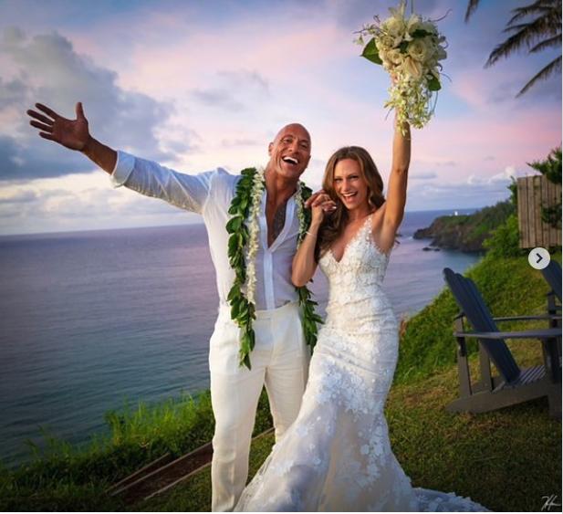 Dwayne 'The Rock' Johnson marries Lauren Hashian in secret ceremony