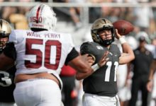 Photo of UCF dominates Stanford 45-27 for another statement win.