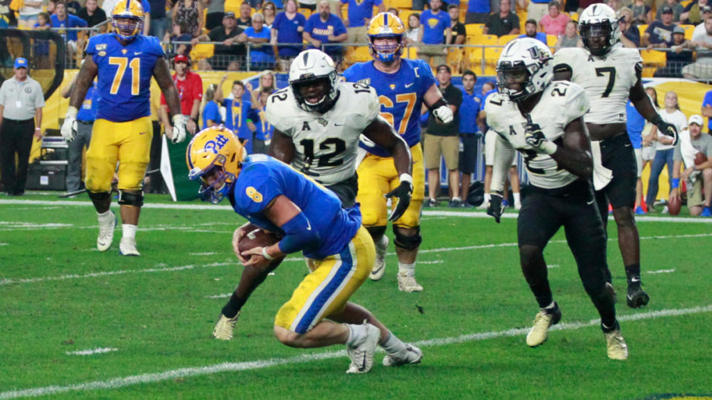 UCF falls in the polls after 35-34 loss to Pitt