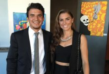Photo of Alex Morgan and her husband are having a baby girl