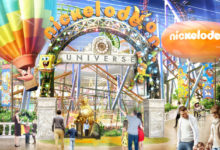 Photo of Nickelodeon Universe theme park opening at American Dream mall in NJ