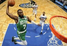Photo of Celtics dismantle Magic easily 100-75 in home debut