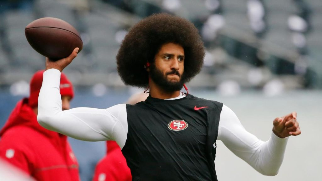 Colin Kaepernick is bringing his own receivers to his workout
