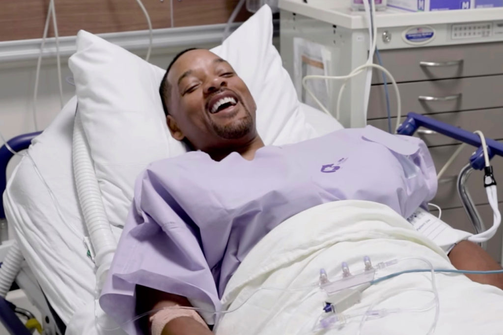 Will Smith posts colonoscopy video for cancer awareness