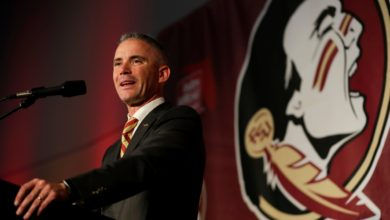 Photo of Mike Norville Introduced as Florida State Head Coach (Video)