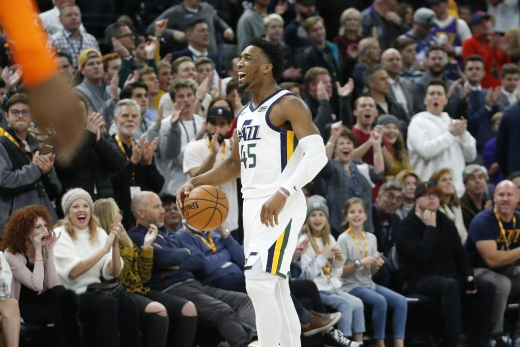 The Utah Jazz Spoil Orlando's Night Behind Mitchell and Bogdanovic's Combined 60 Points