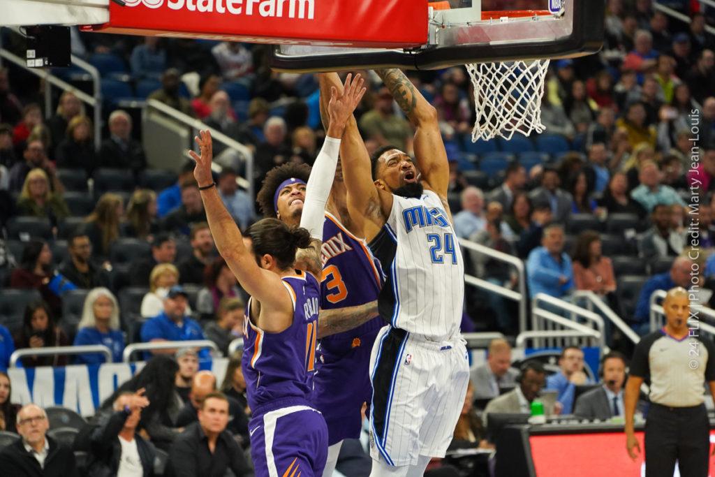 Orlando Magic take down the Phoenix Suns 128-114