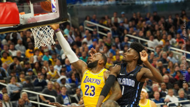 Photo of Lakers roll through Magic 96-87