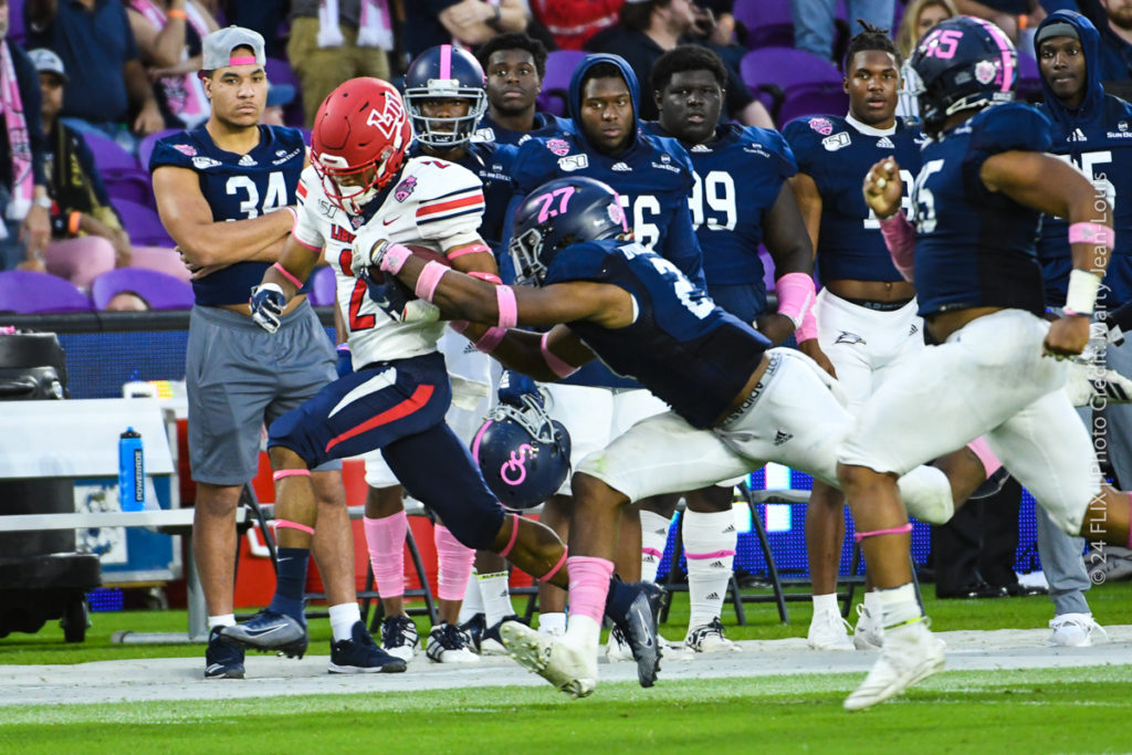 Liberty Flames Defeat the Georgia Southern Eagles 23-16 in  Their First Ever Bowl Game