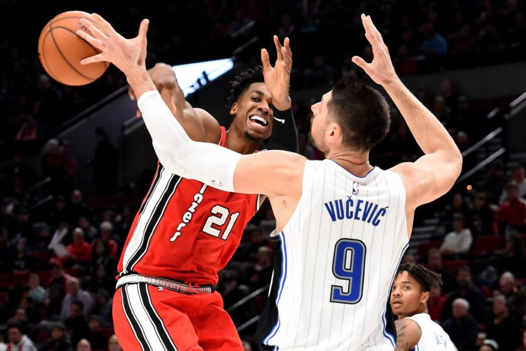 The Magic Struggle Early and Get Dominated by Portland: 118-103