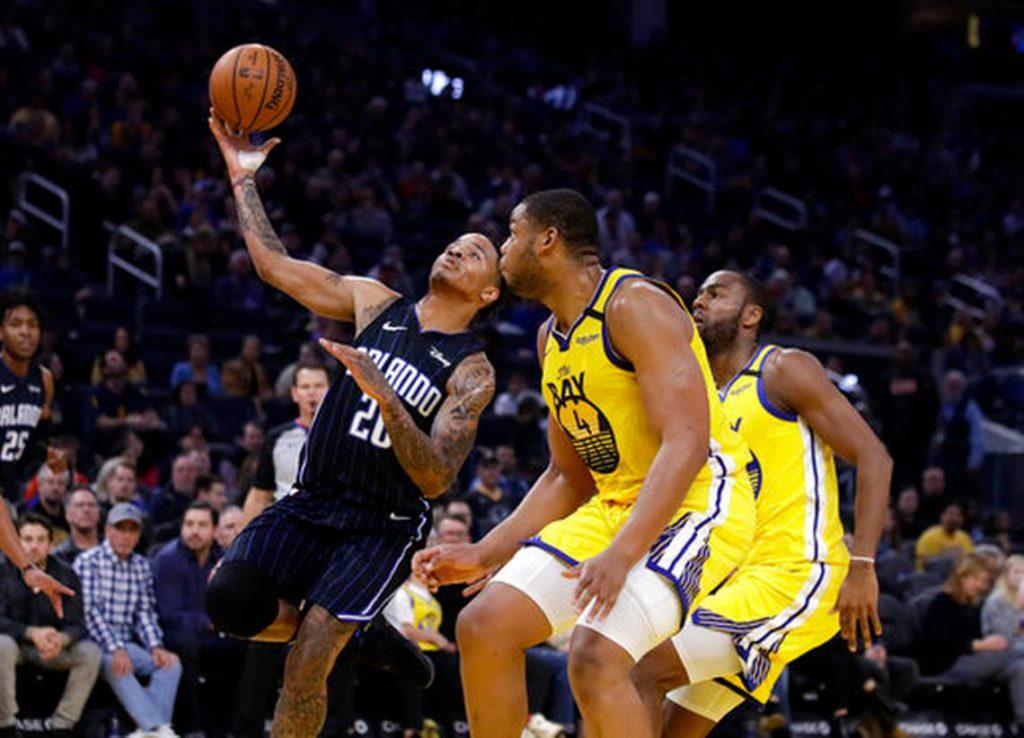 Magic Fall to the Warriors 109-95