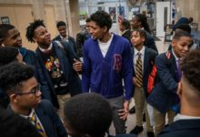 Photo of WASHINGTON WIZARDS' BRADLEY BEAL TAKES 50 STUDENTS ON HOWARD UNIVERSITY TOUR