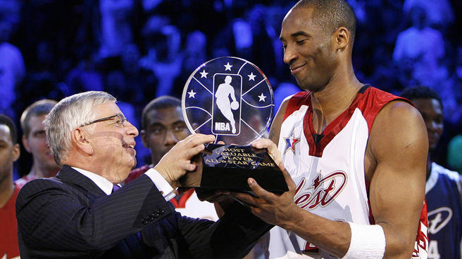 Kia NBA All-Star Game MVP Award named for Kobe Bryant