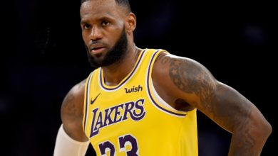 Photo of LeBron James on NBA staging games without fans due to coronavirus fears: I ain't playing