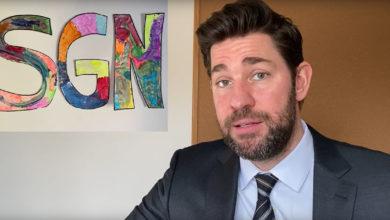 "Photo of The Office Star John Krasinski Launch ""Some Good News"" Youtube Channel"