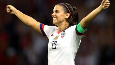 Photo of Alex Morgan gives birth to girl 3 days before Mother's Day