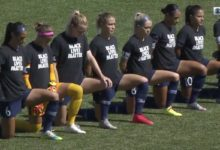Photo of NWSL alters national anthem policy after mass demonstrations, will let players stay in locker room