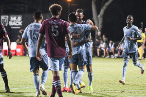 Sporting KC Wins 3-2 in a Wild Battle Against Colorado in the MLS is Back Tournament