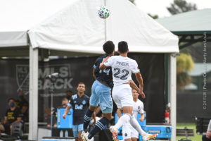 Whitecaps Take Out Chicago Fire 2-0 in MLS is Back Tourney