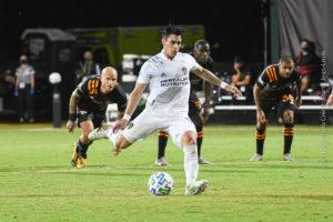 LA Galaxy Eliminate Houston Dynamo from MLS is Back With 1-1 Draw