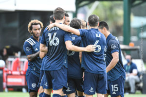 Sporting KC Checked Ticket to Knockout Round With 2-0 Win Over Real Salt Lake