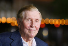 Photo of Sumner Redstone, billionaire media mogul, dead at 97