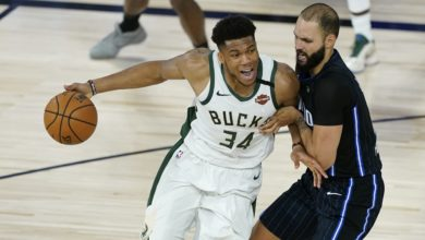 Photo of Magic Hang on With Bucks, But Falter in 4th for 121-106 Loss