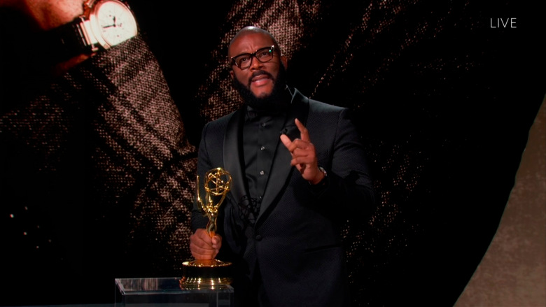 Emmys 2020: Tyler Perry Accepts Governor's Award With Amazing Speech About His Grandmother's Quilt