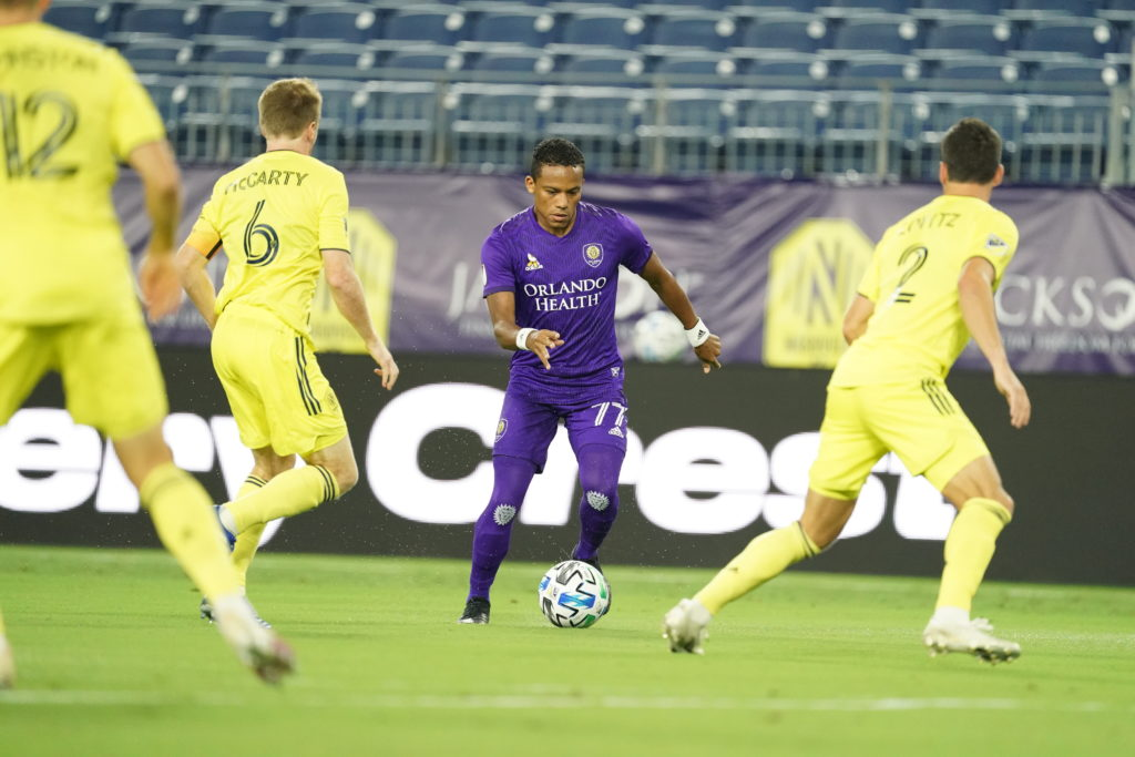 Orlando Leaves Nashville With 1-1 Draw