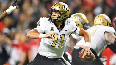 Photo of UCF's Dillon Gabriel Carves Up East Carolina in a Blowout Victory