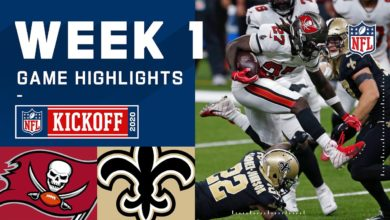Photo of Buccaneers vs Saints Week 1 (Highlights)