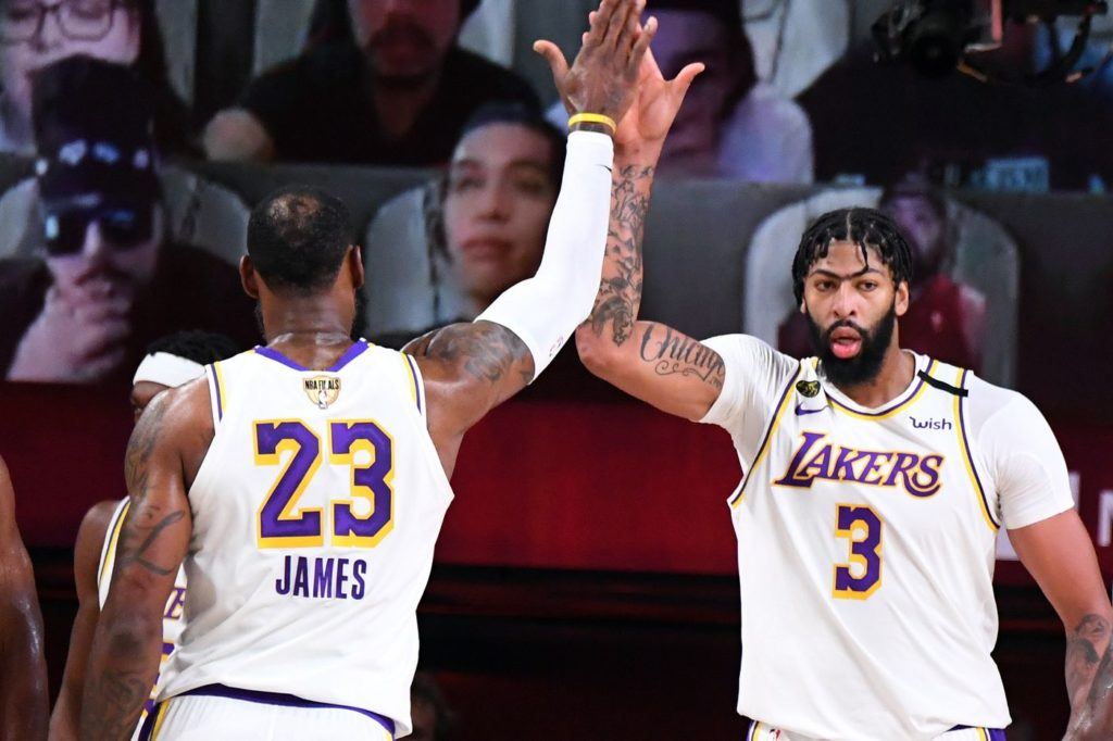 Los Angeles Lakers win 2020 NBA title, LeBron James awarded MVP award