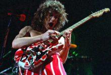 Photo of Eddie Van Halen, rock guitar god, dead of throat cancer at 65