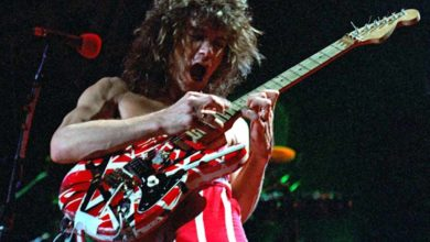 Photo of Eddie Van Halen, rock guitar god, dead of throat cancer at 65