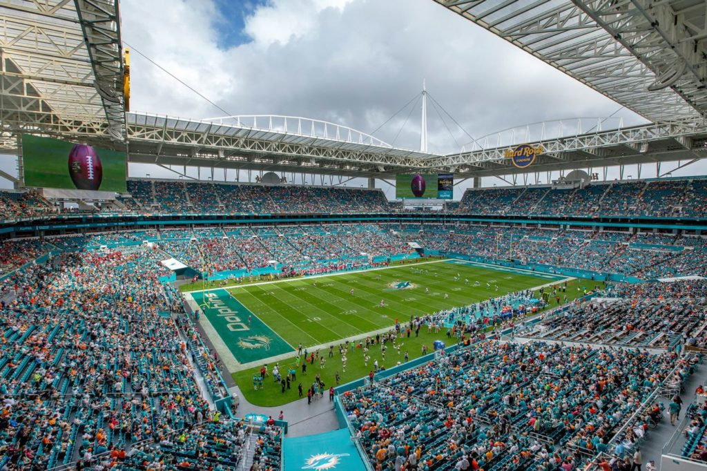 Dolphins GET 'FULL CAPACITY' APPROVAL FROM GOV.... For 65,000 Seat Stadium